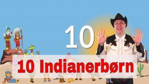 10 indianerbørn