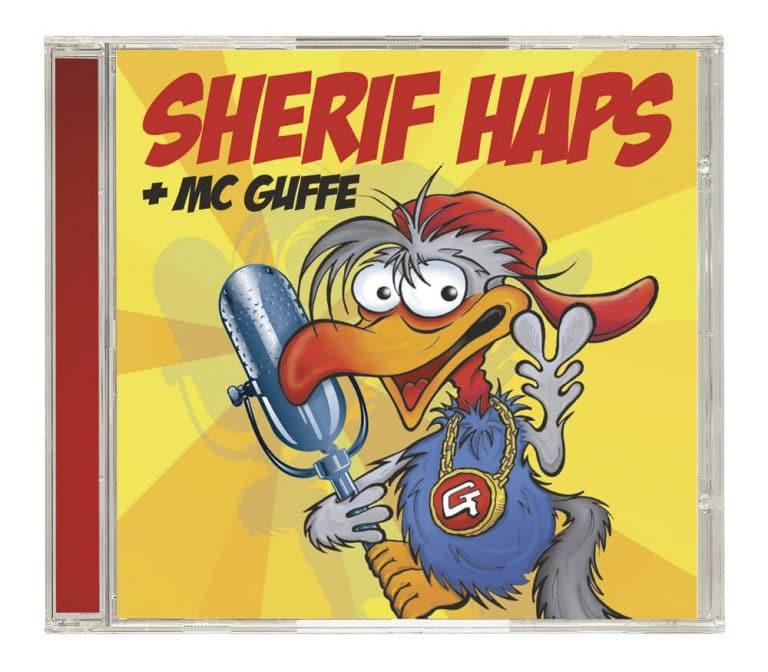 CD med Sherif Haps + MC Guffe