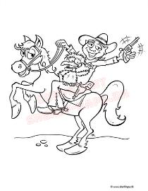 Sherif Haps Guffe til hest
