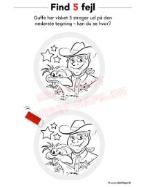 Sherif Haps find 5 fejl