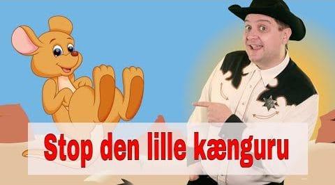 Stop den lille kænguru